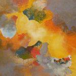 INSOLITE - Acrylique et techniques mixtes sur toile - 24 x 24 po / 61 x 61 cm (non disponible)