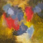 INDISCIPLINE - Acrylique et techniques mixtes sur toile - 24 x 24 po / 61 x 61 cm