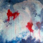 MURMURE - Acrylique sur toile - 24 x 24 po / 61 x 61 cm