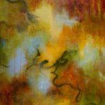 MIRAGE - Acrylique sur toile - 24 x 24 po / 61 x 61 cm