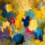 ENCHANTEMENT - Acrylique sur toile - 24 x 24 po / 61 x 61 cm