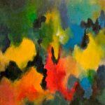 FLUIDITÉ - Acrylique sur toile - 24 x 24 po / 61 x 61 cm