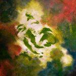 VIREVOLTE - Acrylique sur toile - 28 x 27 po / 71 x 69 cm