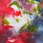 CHASSÉ-CROISÉ - Acrylique sur toile - 26 x 22 po / 66 x 56 cm