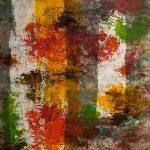 PARCHEMIN - Acrylique sur toile - 34 x 27 po / 86 x 69 cm