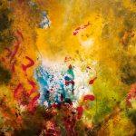 ONDULATIONS - Acrylique sur toile - 26 x 22 po / 66 x 56 cm