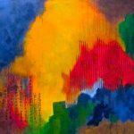 MINE DE RIEN - Acrylique et techniques mixtes sur toile - 24 x 30 po / 61 x 76 cm