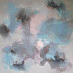PRÉLUDE - Acrylique sur toile - 24 x 24 po / 61 x 61 cm