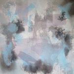 SONORITÉ - Acrylique sur toile 24 x 24 po / 61 x 61 cm