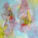 AMBIANCE - Acrylique sur toile- 24 x 24 po / 61 x 61 cm