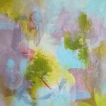 CONSCIENCE - Acrylique sur toile - 24 x 24 po / 61 x 61 cm