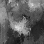 AUGURE - Acrylique sur papier marouflé sur bois - 25 x 19 po / 63.5 x 48 cm (Non disponible)